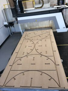 3 axis cnc routing SCM Record 100NT routing centre